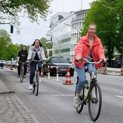 PopUpBikeLanes in Hamburg